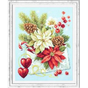Набор для вышивки крестом Чудесная игла С рождеством! 100-241