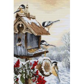 Набор для вышивки крестом Luca-S Птичий двор BU4021
