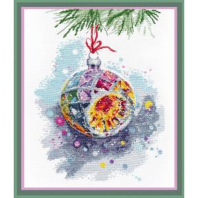 Набор для вышивки крестом Овен Новогоднее настроение  1274о