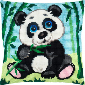 Набор для вышивки подушки Чарівниця Панда Z-76