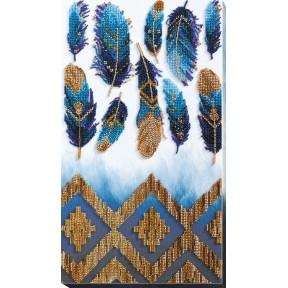 Набор для вышивки бисером Абрис Арт «Индиго» АВ-723