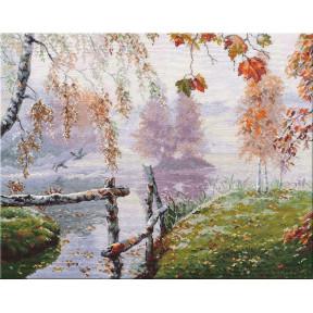 Набор для вышивки крестом Овен  Уж небо осенью дышало 1281о