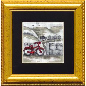 Набор для вышивания Permin (Bicycle) 14-8410