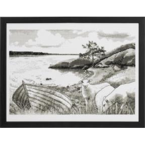 Набор для вышивания Permin (Ocean) 90-8804