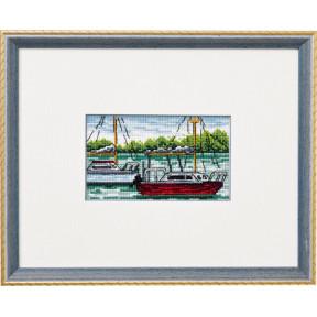 Набор для вышивания Permin (Boats) 92-8422