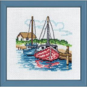 Набор для вышивания Permin (2 boats) 13-8116