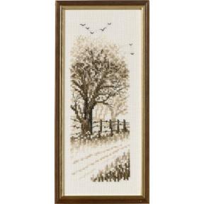 Набор для вышивания Permin (Edge of the wood) 13-8143