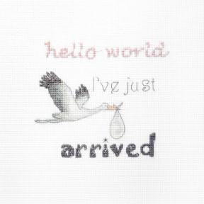 Набор для вышивания LETISTITCH  Подарок для новорожденного LETI 931