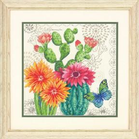 Набор для вышивания крестом Dimensions Cactus Bloom 70-35388