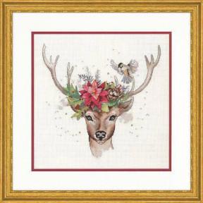 Набор для вышивания крестом Dimensions Woodland Deer 70-08981