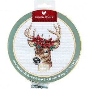 Набор для вышивания крестом Dimensions Deer 72-76040