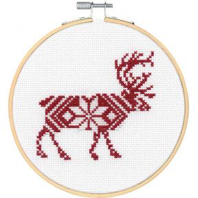 Набор для вышивания крестом Dimensions Reindeer 72-76041