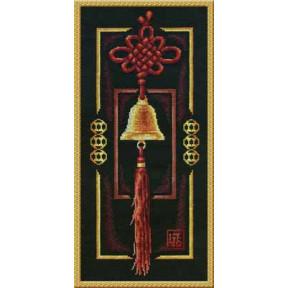 Набор для вышивки крестом Panna СО-0656 Золотой колокольчик