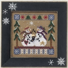 Набор для вышивания Mill Hill Frosty Friends MHCB171