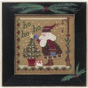 Набор для вышивания Mill Hill Spring Ho Ho Ho Santa MHCB170