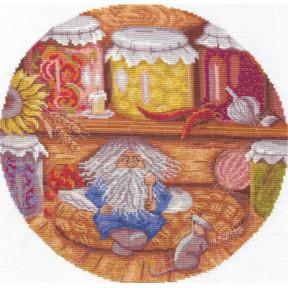 Набор для вышивки крестом Panna СО-0938 Домовой-хранитель очага