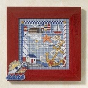 Набор для вышивания Mill Hill Seaside Sampler MH147105