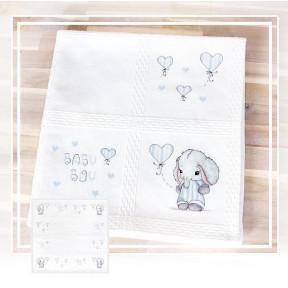 Набор для вышивки Luca-S BO102 Детское одеяло