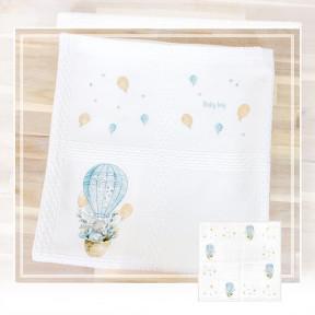 Набор для вышивки Luca-S BO101 Детское одеяло