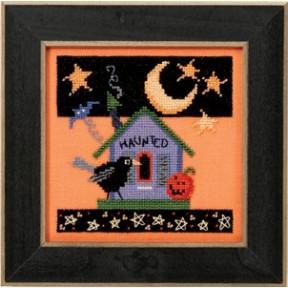 Набор для вышивания Mill Hill Haunted Crow DM303103