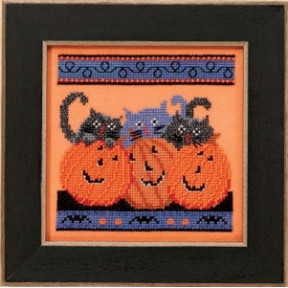 Набор для вышивания Mill Hill Jacks and Cats DM303102