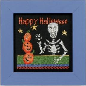 Набор для вышивания Mill Hill Happy Skeleton DM303101