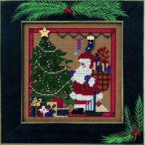 Набор для вышивания Mill Hill Santa's Visit MHCB189
