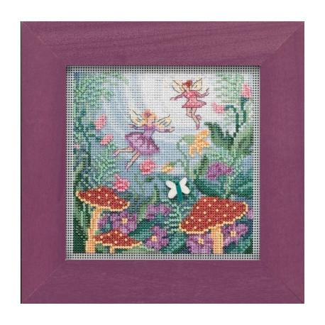 Набор для вышивания Mill Hill Fairy Garden MH141921