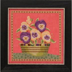Набор для вышивания Mill Hill Pansies DM301911
