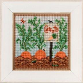 Набор для вышивания Mill Hill Carrot Garde MH141711