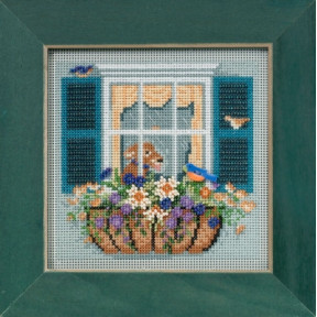 Набор для вышивания Mill Hill Window Box MH145104