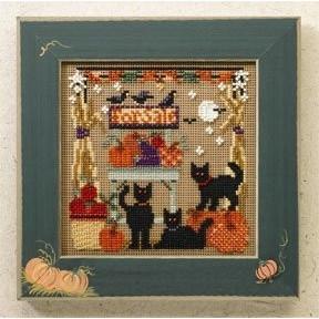 Набор для вышивания Mill Hill Bountiful Kitties MH146202