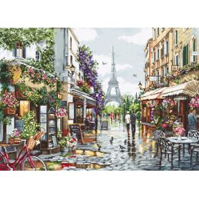 """Набор для вышивки Luca-S """"Цветущий Париж"""" B2365"""