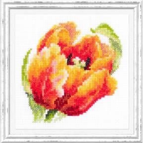 """Набор для вышивки крестом Чудесная игла """"Красный тюльпан"""" 150-010"""