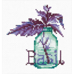 Набор для вышивки Сделай Своими Руками Пряные травы. Базилик П-54