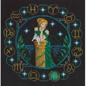 Набор для вышивки крестом Panna ЗН-0927 Дева