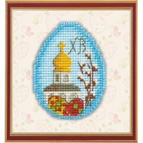 Набор для вышивки крестом Овен Пасхальный сувенир 1180