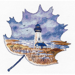 Набор для вышивки крестом Овен Маяк Йакин-Хед   1271о