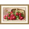 Набор для вышивки Золотое Руно ЛЦ-041 Розы в лукошке фото