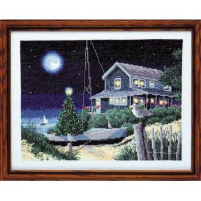 Набор для вышивания Design Works 2330 Winter Moonlight