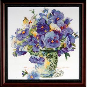 Набор для вышивания Design Works 2771 Pansy Floral