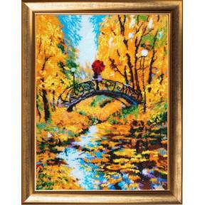 Набор для вышивания бисером Butterfly Осенний мостик 829Б