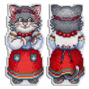 Набор для вышивки крестом МП Студия Кошка Мурка Р-471