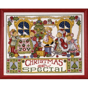 Набор для вышивания Design Works 5444 Christmas is Sew Special