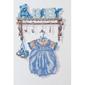 """Набор для вышивки крестом Абрис Арт """"Малыш. Мальчик"""" АН-051"""