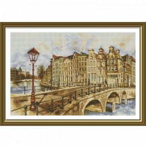 """Набор для вышивания крестом Нова Слобода """"Амстердам"""" РЕ-3501"""