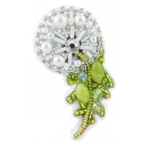 """Набор для изготовления броши Crystal Art """"Одуванчик"""" БП-258"""