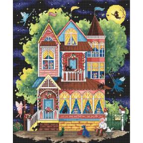 Набор для вышивания LETISTITCH Fairy tale house LETI 937