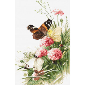 Набор для вышивания LETISTITCH Butterflies in the field LETI 938