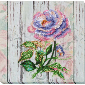 """Набор для вышивки бисером на холсте Абрис Арт """"Чайная роза"""" АМВ-063"""